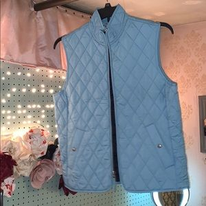 Lands End LightWeight Quilted Vest